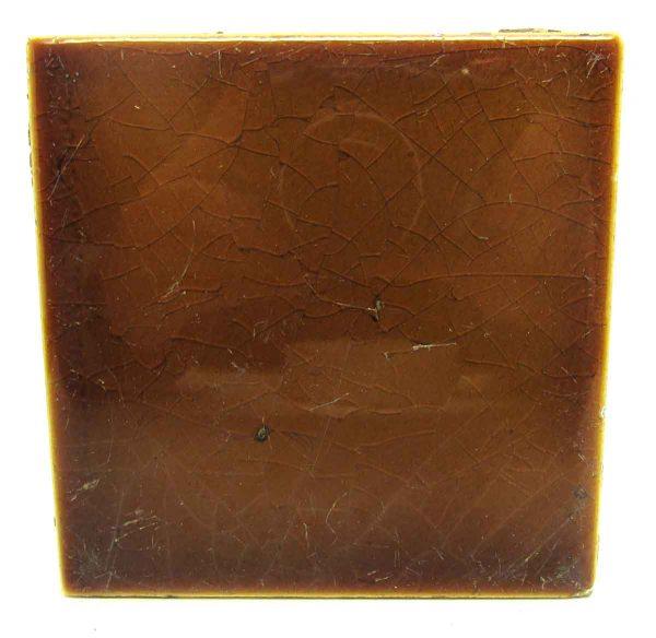 Olive Shiny Square Tiles