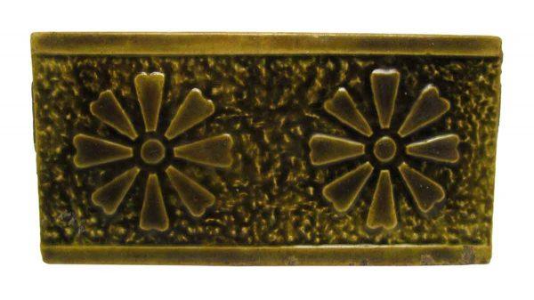 Floral Olive Tiles