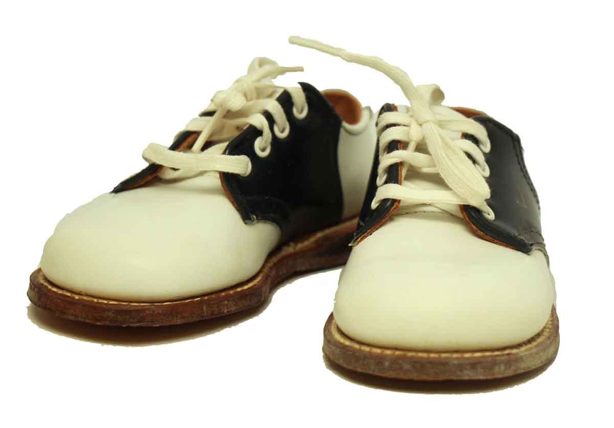 Vintage Leather Saddle Shoes Olde Good Things