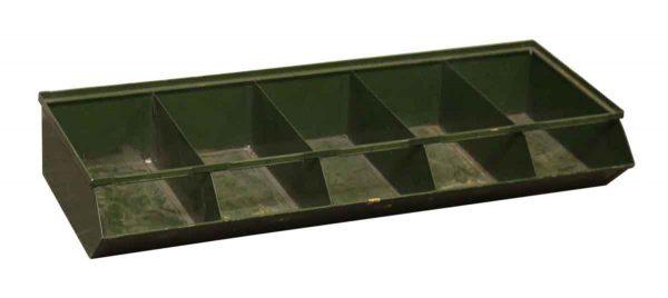 Green Metal Industrial Bins