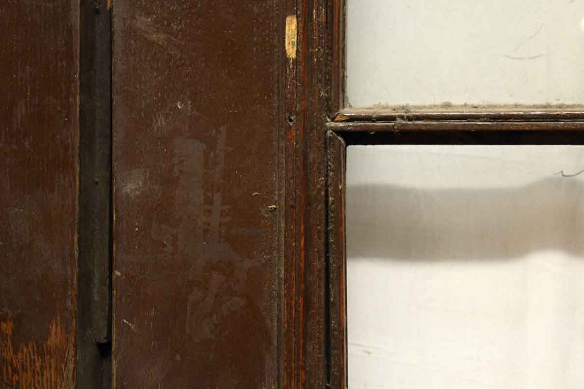 Double French Doors With Large Bronze Pulls Amp Kick Plates