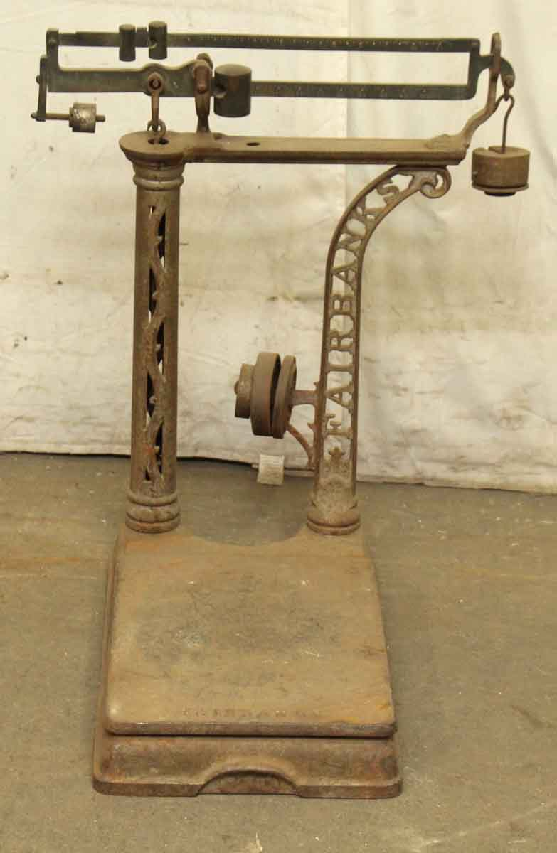 Antique Fairbanks Scale Olde Good Things