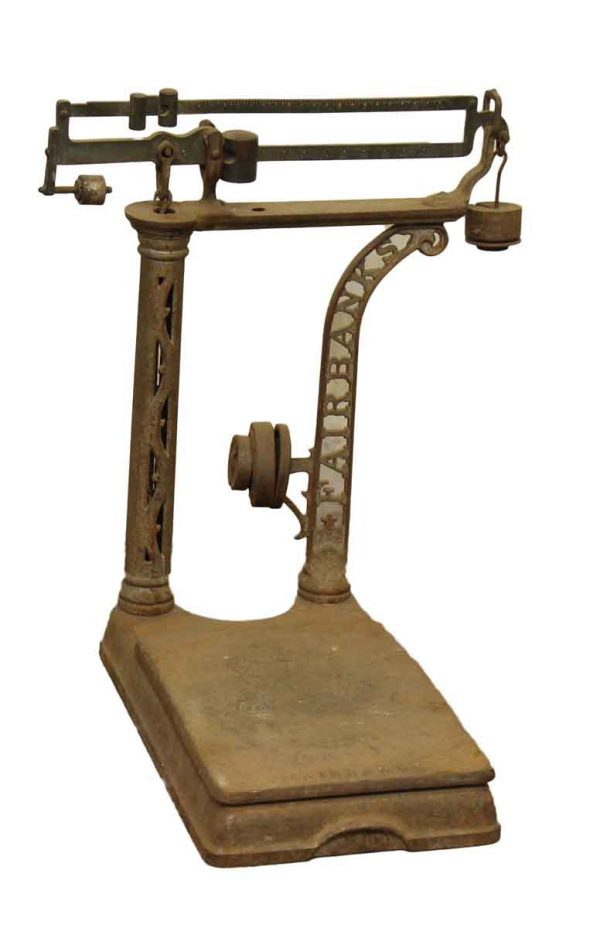 Antique Fairbanks Scale