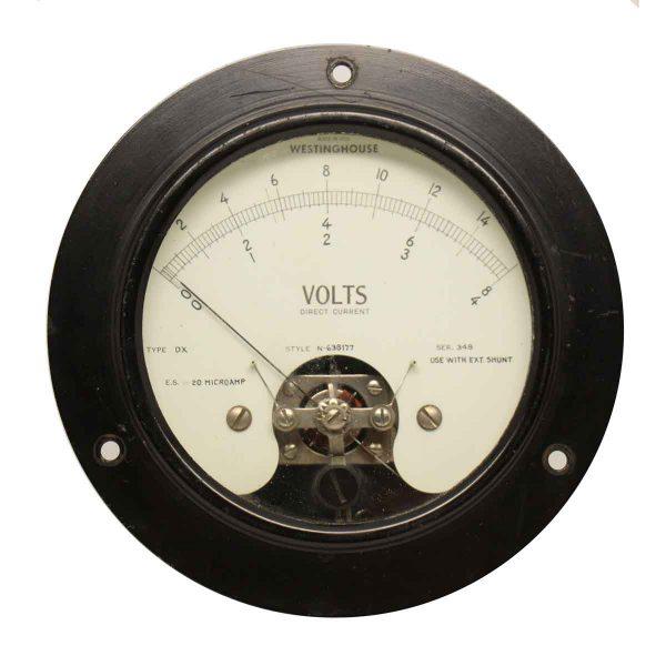 Westinghouse Dc Volt Meter