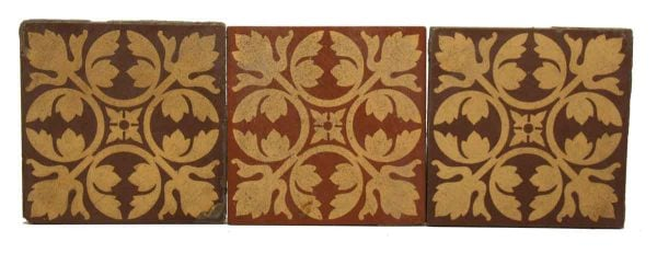 Set of Seven Decorative Tiles
