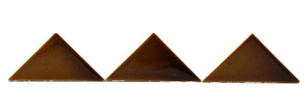 Set Brown Triangular Tiles