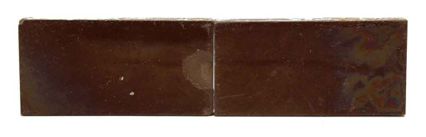 Pair of Brown Tiles