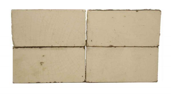 Set of Off White Tiles