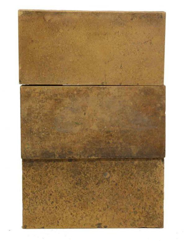 Set of Textured Tan Tiles