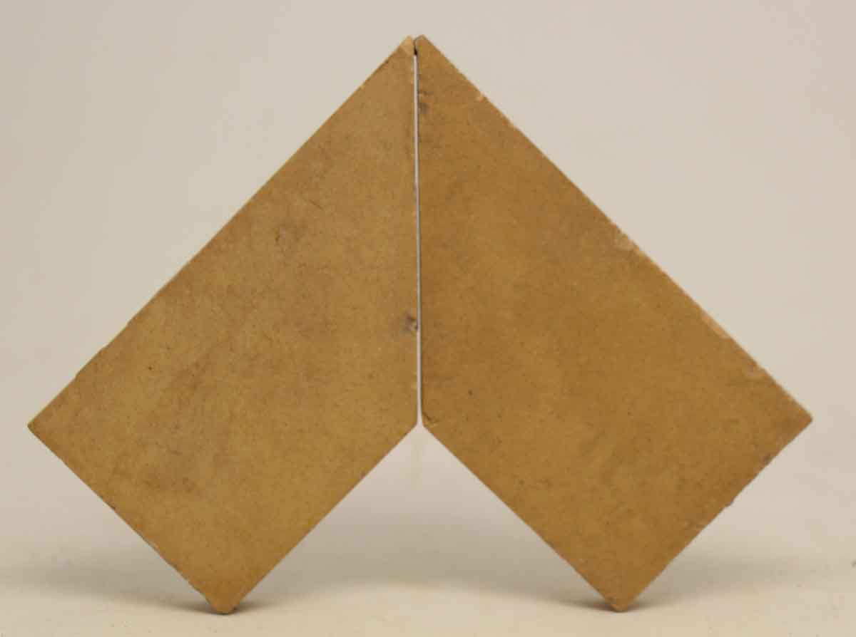 Set Of Trapezium Shaped Tan Tiles Olde Good Things