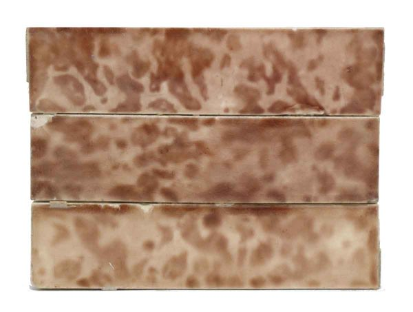 Set of Pink Mixed Decorative Tiles