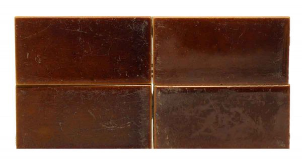 Set of Petite Brown Tiles