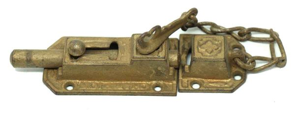 Champion Door Latch with Chain