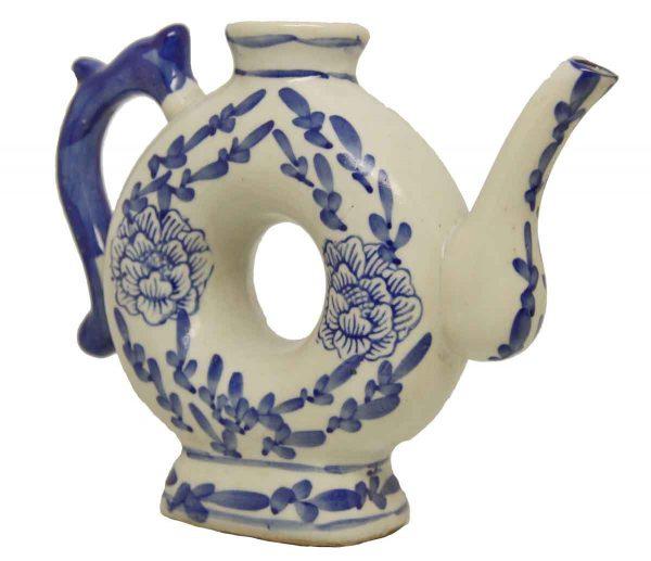 Vintage Painted Tea Pot Decoration