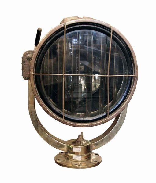 Brass Ship Signal Light