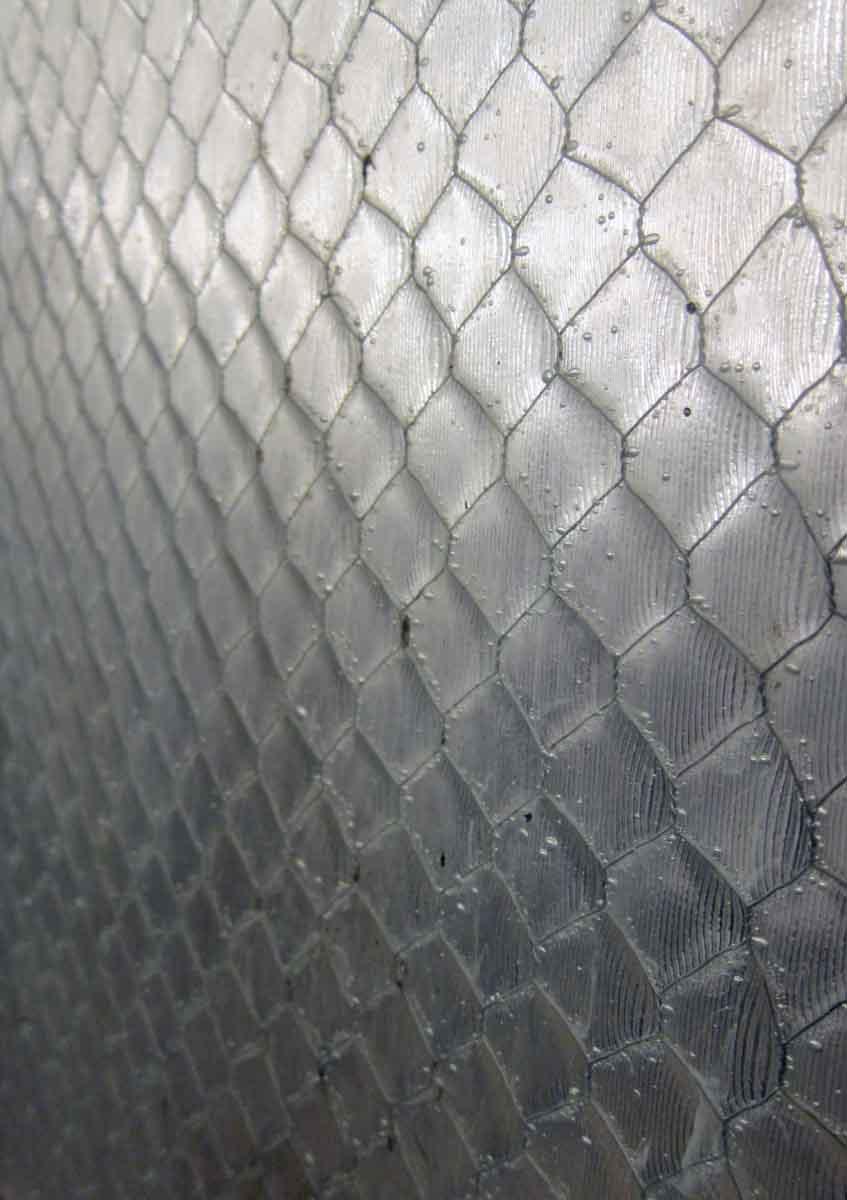 Industrial Copper Framed Elevator Door with Chicken Wire | Olde Good ...