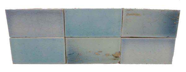 Set of 8 Sky Blue Tiles