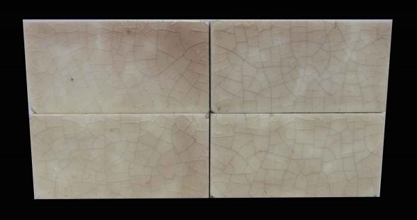 Set of Four Colorful Tiles