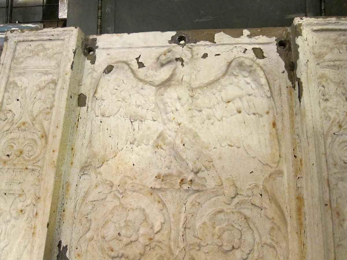 Decorative Cast Iron Panels From Brooklyn