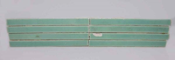 Set of Mint Green Liner Tiles