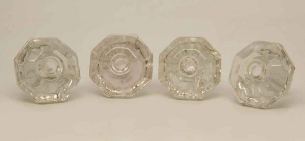 Set of Four Glass Knobs