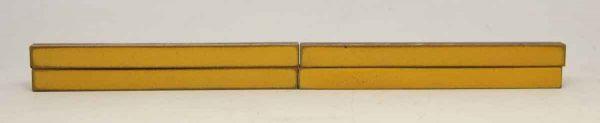Set of Long Thin Yellow Tiles