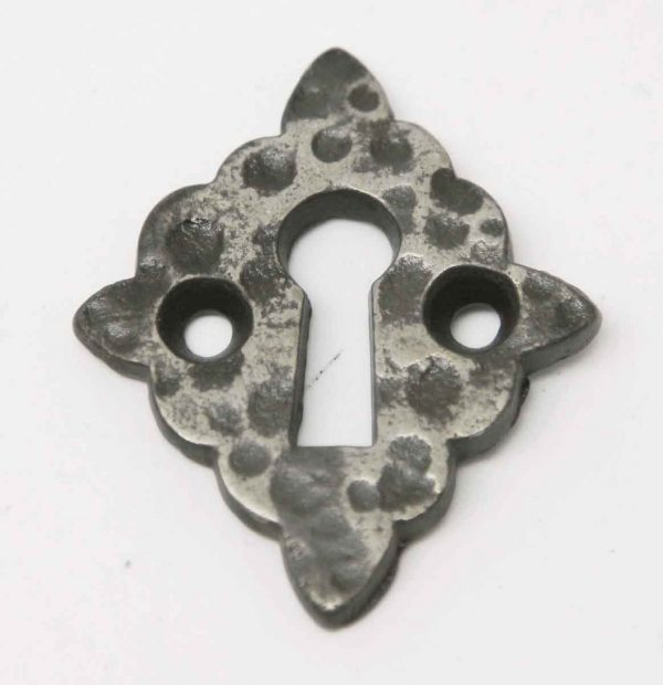 Hammered Arts & Crafts Keyhole Cover