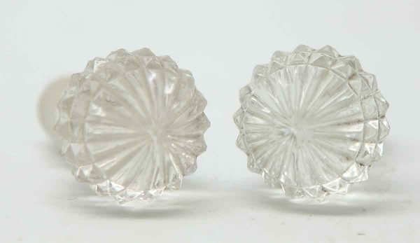 Pair of Crystal or Glass Stoppers