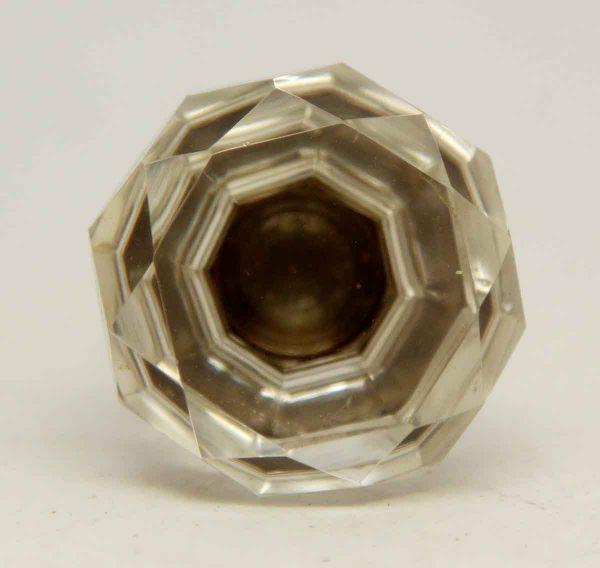 Single Cut Crystal Cabinet Knob