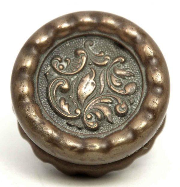 Rococo Bronze Single Knob