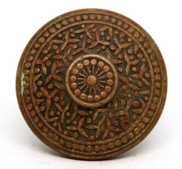 Bronze Yale & Towne Ornate Single Knob