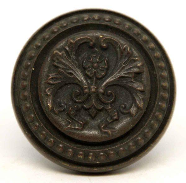 Corbin Ornate Bronze Floral Knob