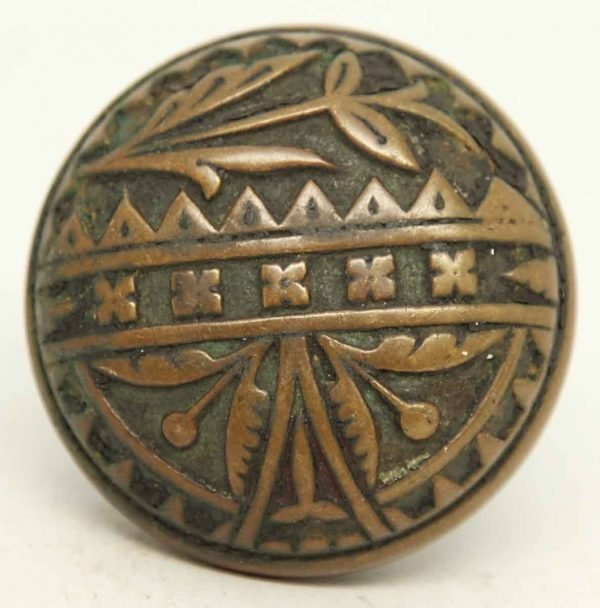 Collectors Quality Bronze Single Knob
