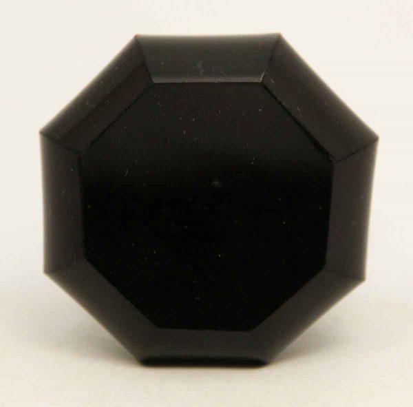 Collectors Black Glass Knob