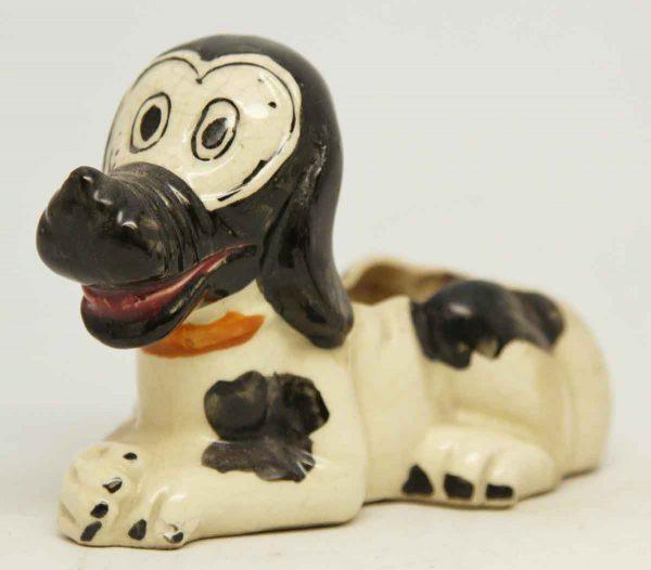 Small Ceramic Vintage Dog Figurine