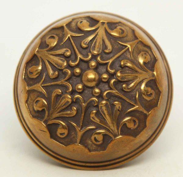 Collectors Quality Single Bronze Ornate Knob