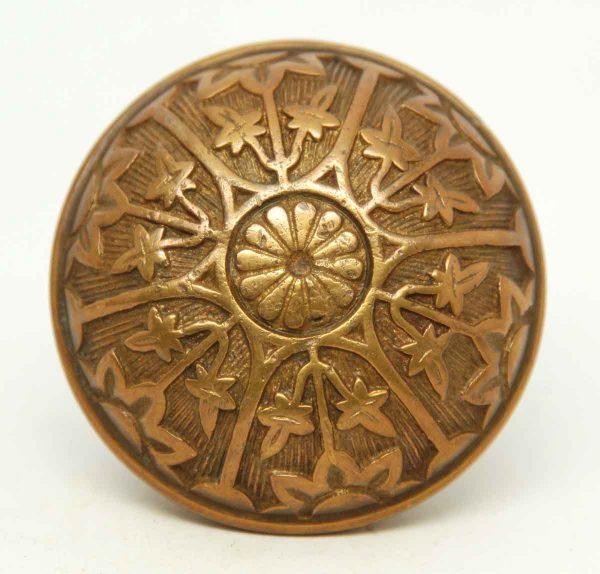 Bronze Single Collectors Six Fold Knob