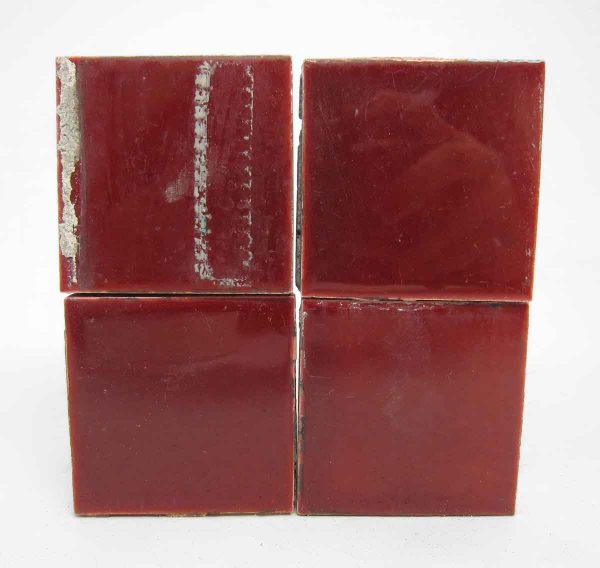 Small Square Red Tiles Lot