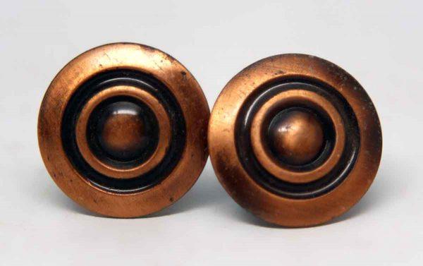 Pair of Circular Drawer Knobs