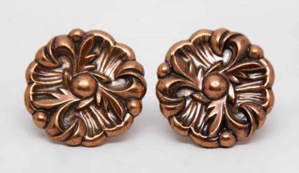 Pair of Floral Drawer Knobs