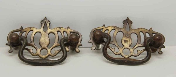 Pair of Cut Out Furniture Pulls