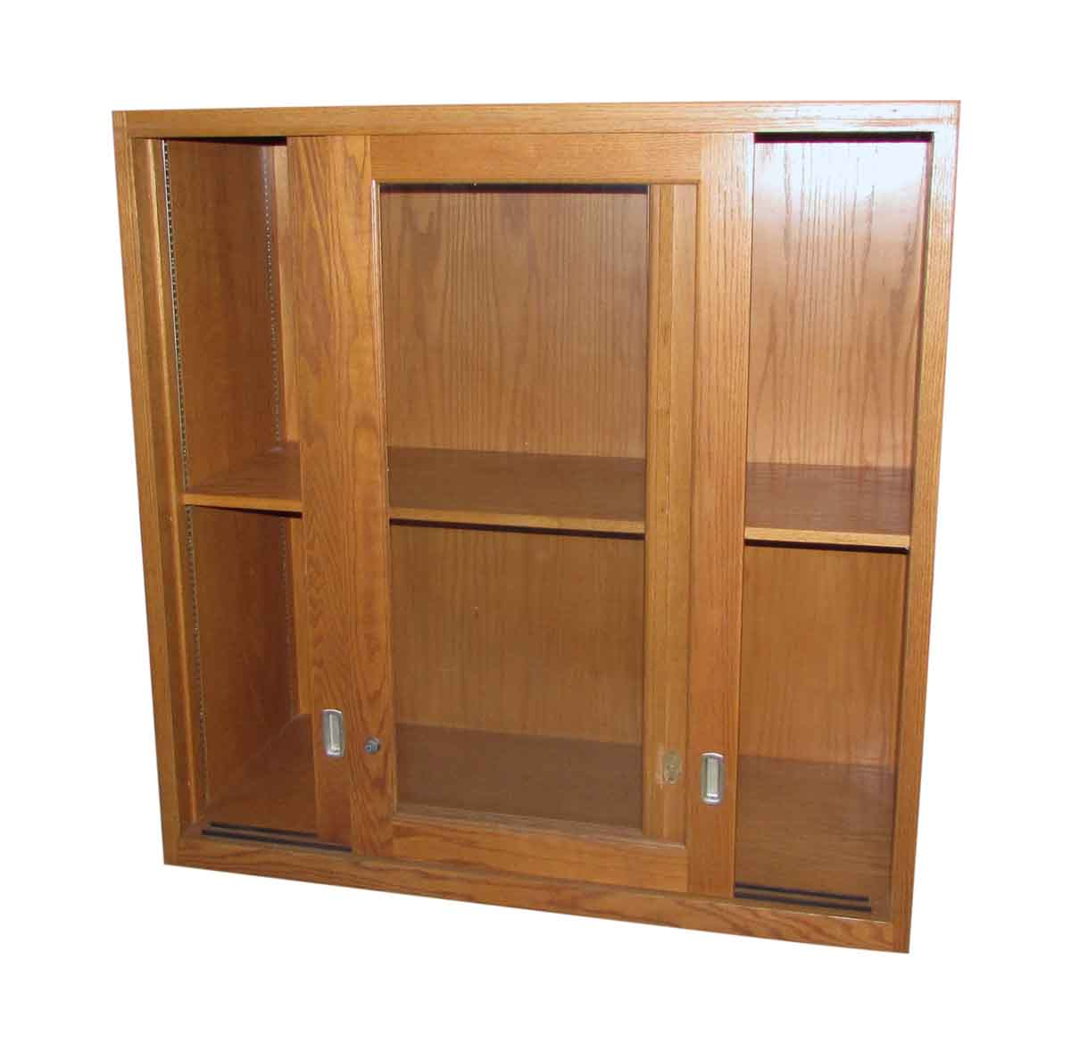 sliding glass door cabinet olde good things. Black Bedroom Furniture Sets. Home Design Ideas