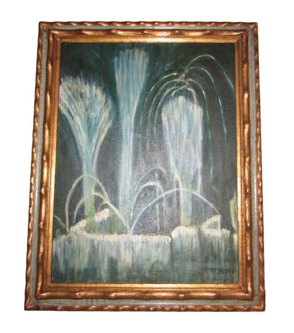 Burst of Light Oil Painting