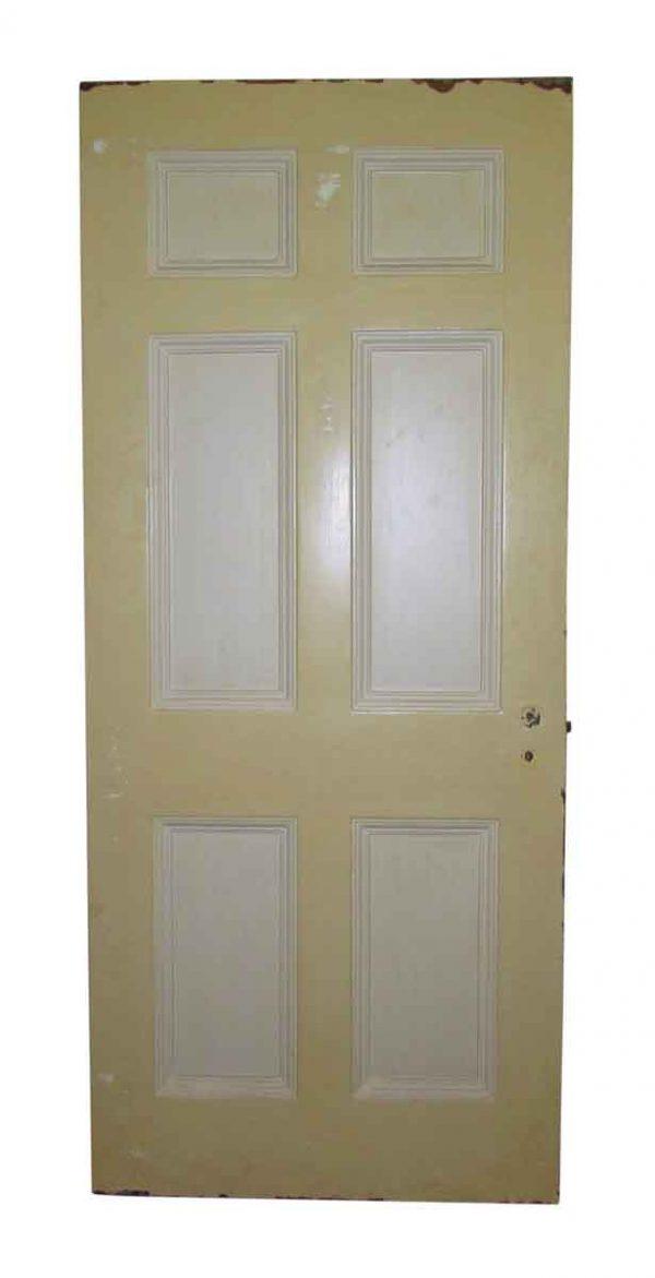 Six Panel Metal Doors