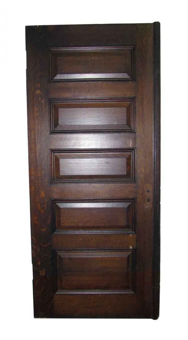 Five Olde Horizontal Panel Door