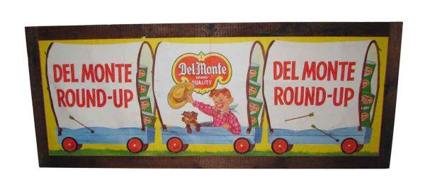 Del Monte Vintage Sign
