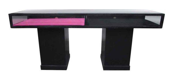 Black Wooden Display Case