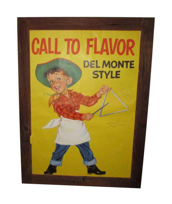 Delmonte Poster Sign