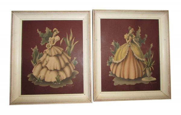 Pair of Figural Prints