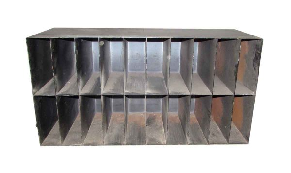 Black Metal Cabinet